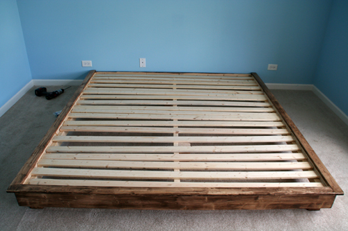 build a king-sized platform bed - diywithrick