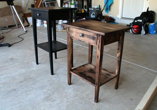 Refinish an Ikea Hemnes Nightstand