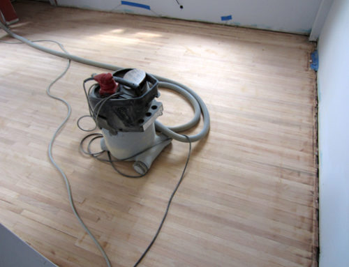 How to re-finish a hardwood floor