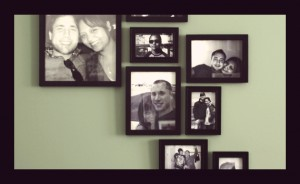 Create a Modern Picture Frame Wall Design