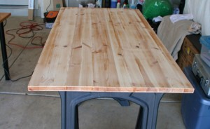 Refinish a Wooden Desk or Tabletop