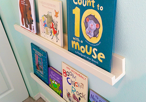 Build Picture Ledges for Children's Books