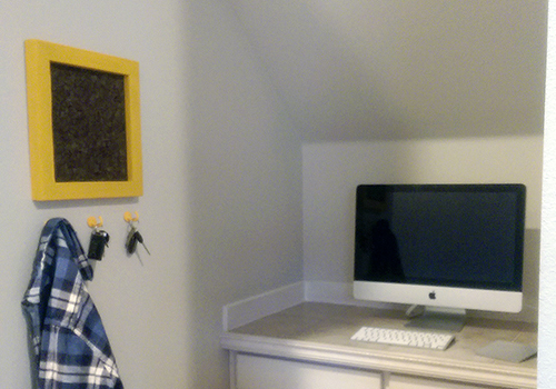 Build a Cork Memo Board Frame