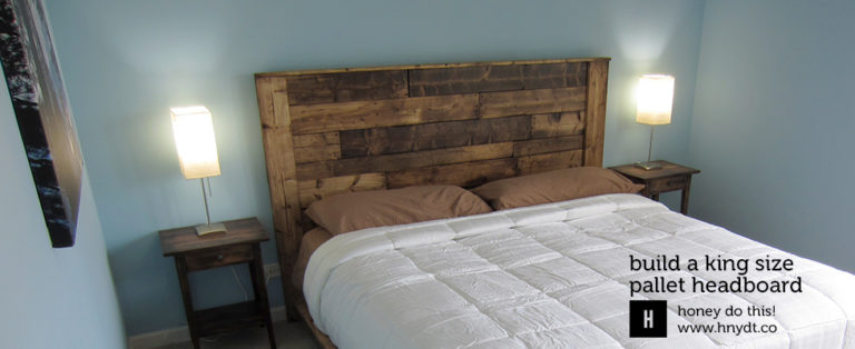 Read more about the article Build a King-Sized Pallet Headboard