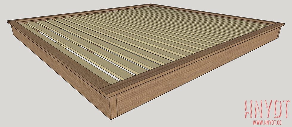 DIY Platform Bed Plans - DIYwithRick