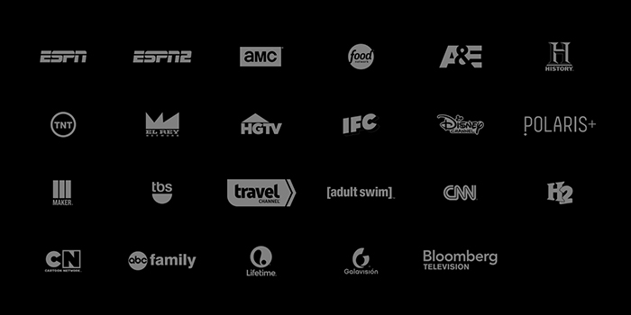 "SlingTV's base package or ""Best of Live TV Package"""