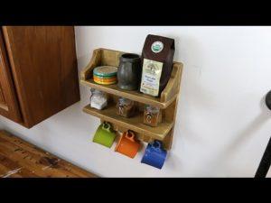 How to Build a Rustic Coffee Shelf