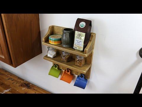 Read more about the article How to Build a Rustic Coffee Shelf