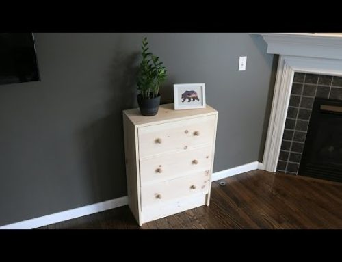 Build a 3 Drawer Dresser