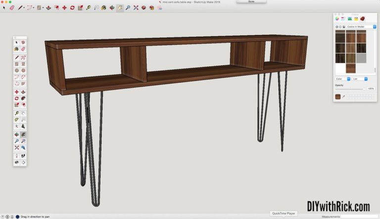 Read more about the article Designing a Mid Century Modern Sofa Table