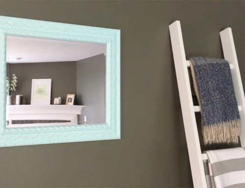 Transform an Old Mirror with Color