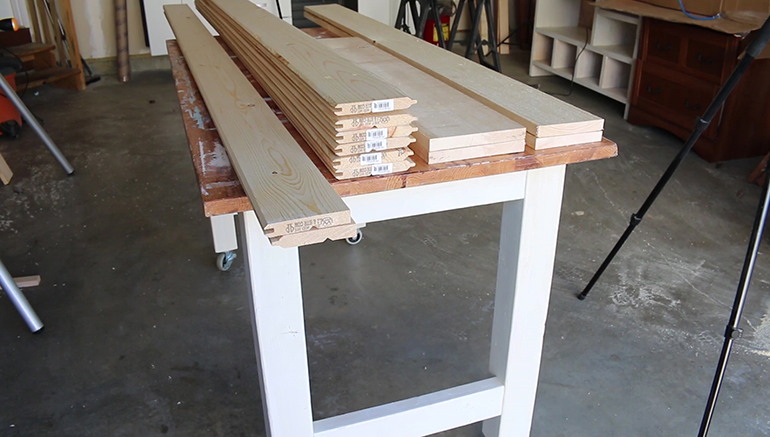 Here Is All Of The Material Required To Build Your Own Sliding Barn Door And Header