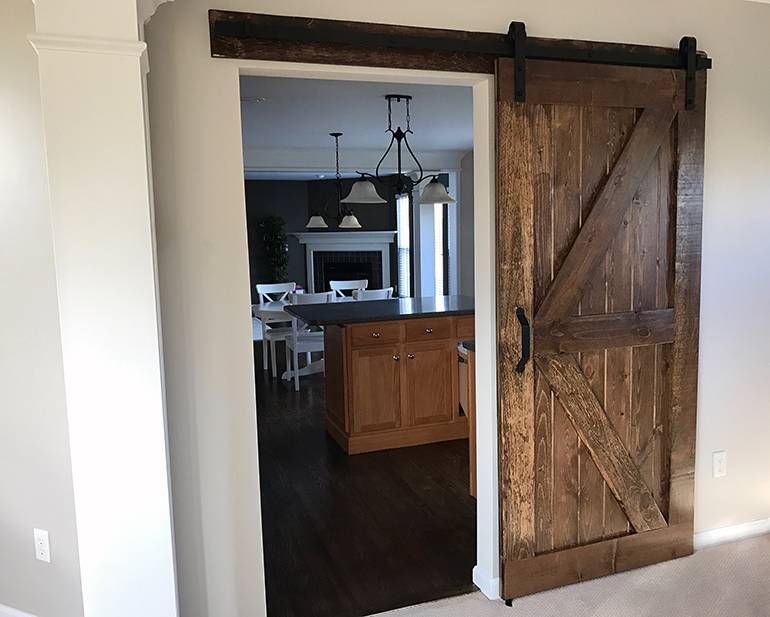 Build And Install A Sliding Barn Door